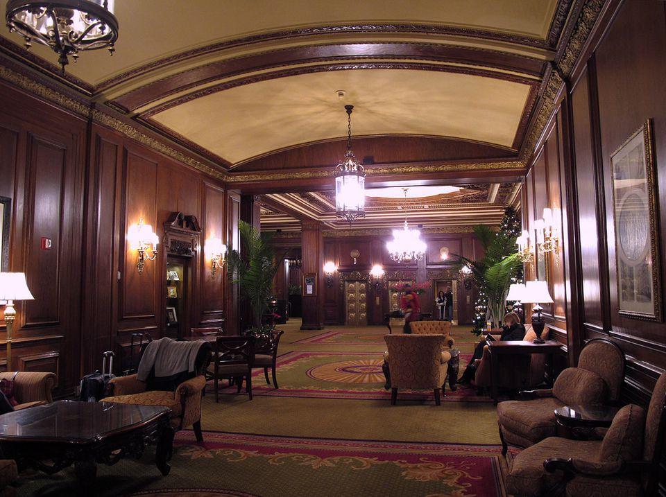 gathering room in hotel