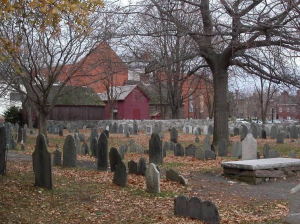 Old Burying Point Cemetery - Photo