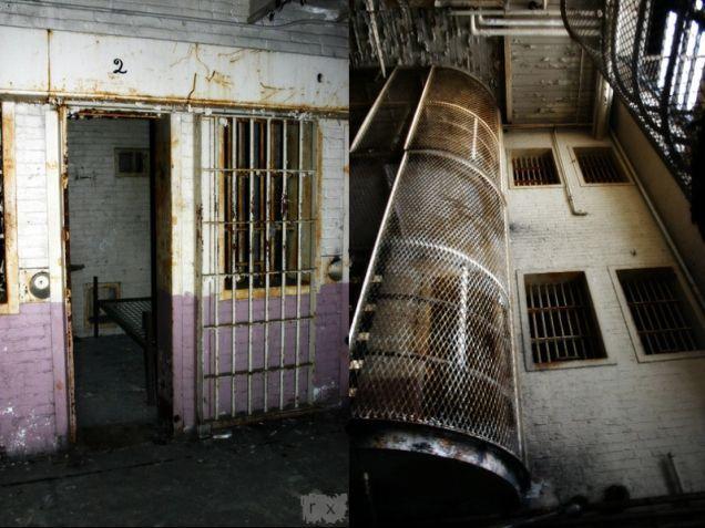 inside of the old salem jail