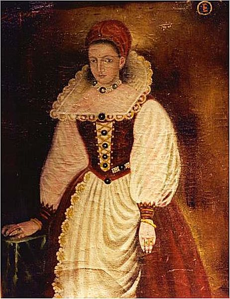 Painting of Elizabeth Bathory
